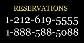 reservation phone numbers